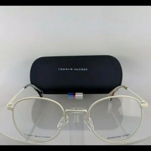 New Authentic Tommy Hilfiger White Eyeglasses